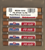 Mohawk Fil-Stik Wax Putty Stick - (12) Stick Color Assortments M230-12