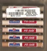 Mohawk Fil-Stik Wax Putty Stick Furniture Store - (24) Assortment M230-2400