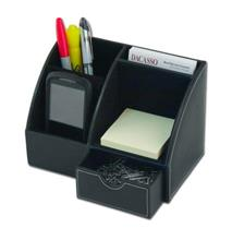 Classic Leather Desk Top Organizer